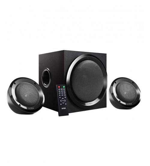 Intex IT-2202 SUF OS 2.1 Channel Multimedia Speaker, Black